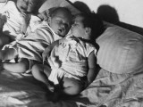 Refugee Babies Born During Flight WWII