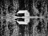 Grey Owl's Cabin  Saskatchewan  1934