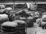 Moving Large Sacks in a Warehouse