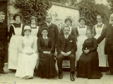 Master and Staff of Union Workhouse  Caistor  Lincolnshire