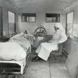 Mab Ambulance Interior  London
