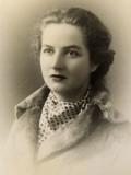 Portrait of a Glamorous Woman Wearing a Cravat
