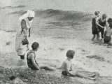 Sea Bathing at Millfield Seaside Home  Littlehampton  Sussex