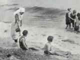 Sea Bathing at Millfield Seaside Home  Littlehampton  Sussex