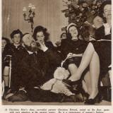 Christian Dior's Spring Fashion Show  1948