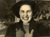 Photograph of a Grinning Woman