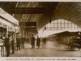 Departure Platform  St Pancras Station  London Midland Railway