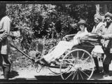 Rickshaw in India 1920s