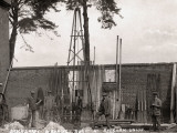 Sinking an Artesian Well  Union Workhouse  Aylsham  Norfolk