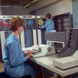 Promotional Photograph for the Ibm 1410