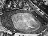 Aerial View of the FA Cup Final at Stamford Bridge  1922