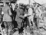 German Medic at Work During World War I on the Western Front