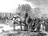Carriages Used for the Ambulance Service  Paris; Franco-Prussian War