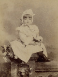 Photographic Portrait of a Young American Girl