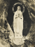 Lourdes - the Statue in the Grotto