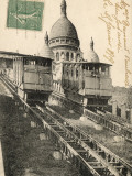 Sacre Coeur  Montmartre  with the Funiculaire