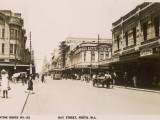Hay Street in Perth  Western Australia