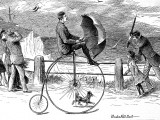 Penny Farthing Bicycle 'Under Full Sail'  1890