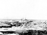 Discovery' in the Pack Ice  Antarctica  1902