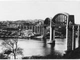 Royal Albert Bridge  River Tamar  Saltash  Corwall