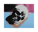 Skull, c.1976 (White on Blue and Pink) Giclée par Andy Warhol
