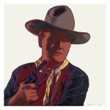 Cowboys and Indians: John Wayne  c1986