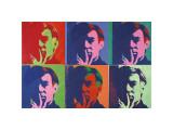 A Set of Six Self-Portraits, c.1967 Giclée par Andy Warhol