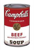 Campbell&#39;s Soup I: Beef  c1968