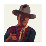 Cowboys and Indians: John Wayne  c1986