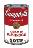Campbell's Soup I: Cream of Mushroom  c1968