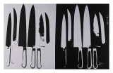 Knives  c1981-82 (Silver and Black)