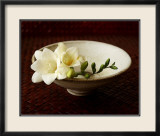 Freesia and Bowl