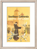 United Airlines: Southern California  Franciscan Monk and Spanish Mission