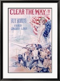 WWI  4th Liberty Bond  Clear the Way