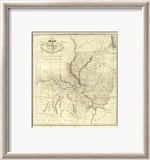 Map of the States of Illinois &amp; Missouri  c1823