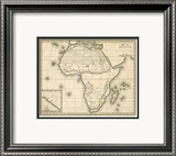 Map of Africa  c1839