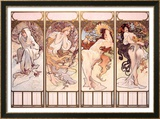 Seasons  Winter Panel  1897