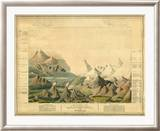 Comparative View of the Heights of the Principal Mountains in the World  c1816