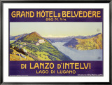 Grand Hotel and Belvedere  Lanzo d'Intelvi