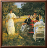 In the Orchard  1891