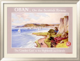 Caledonian Railway Travel to Oban Scotland