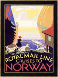 Royal Mail Ocean Line  Norway