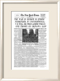 New York Times  May 8  1945: V-E Day