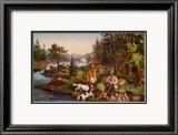 Hunting Fishing and Forest Scenes