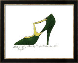 Shoe  c1955 (Green and Yellow)