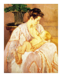 Mère et enfant Giclée par Mary Cassatt