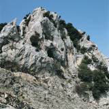 Low Angle View of a Mountain  Gennargentu National Park  Sardinia  Italy