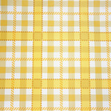 Plaid Yellow