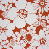 Retro Pattern of Flowers