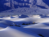 Sand Dunes at the Base of Tucki Mountain  Death Valley National Park  California  Usa
